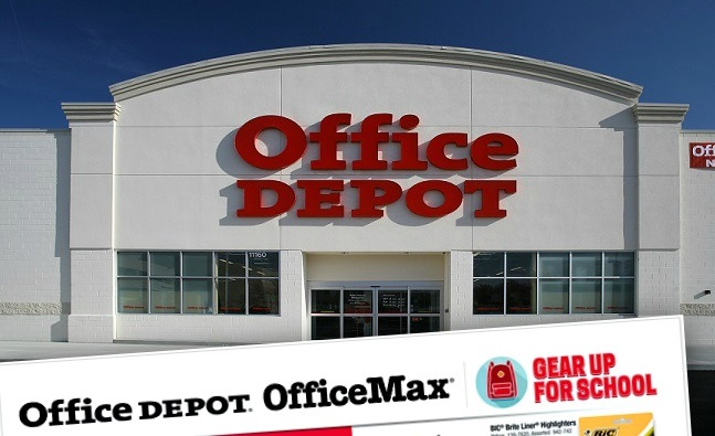 Office Depot Back to School Deals for 8/28 – 9/3