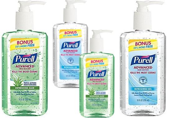 Purell Hand Sanitizer Bonus Bottles Only 1 25 At