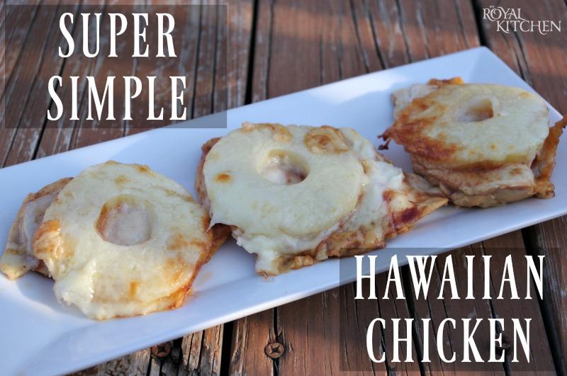 Super Simple Hawaiian Chicken