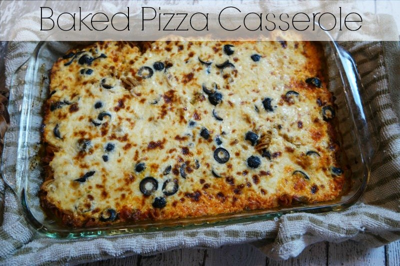 Baked Pizza Casserole