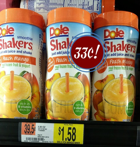 Dole Smoothie Shakers Only 33 162 At Walmart Consumerqueen