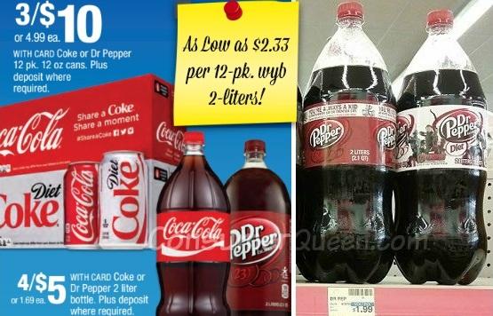 12-pk Soda as Low as $2.33 at CVS – No Coupons Needed!