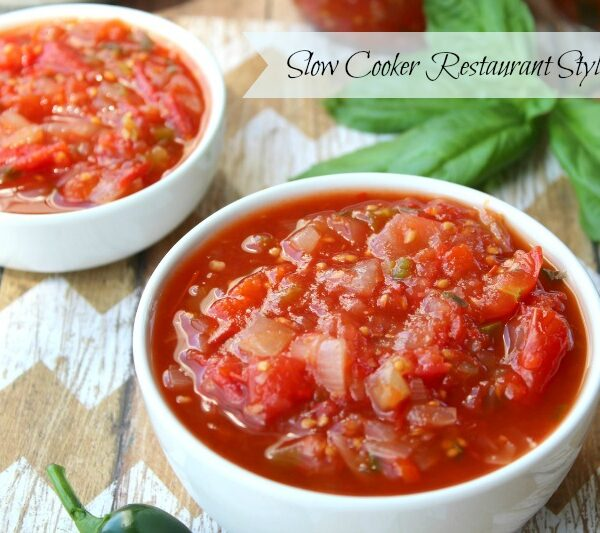 Slow Cooker Restaurant Style Salsa