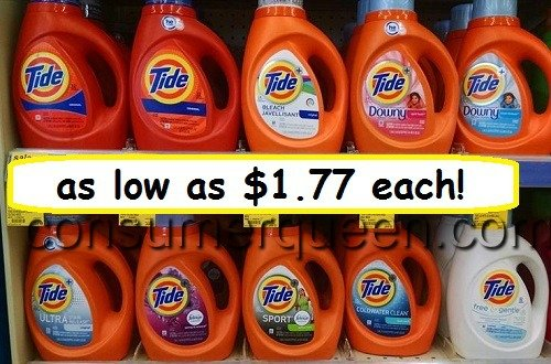 Tide Detergent as low as $1.77 at Walgreens