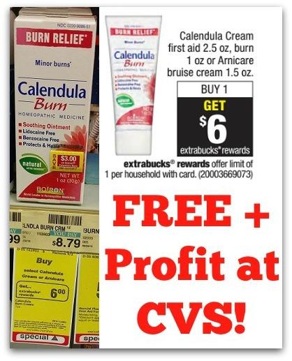 Calendula Burn Cream FREE + Profit at CVS! - ConsumerQueen