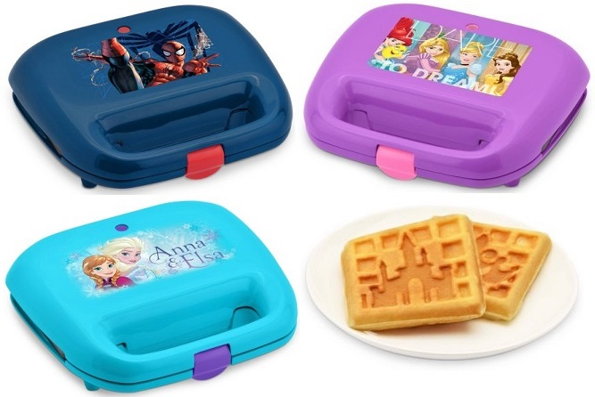 Licensed Character Waffle Makers only $5.97 (reg $14.96)