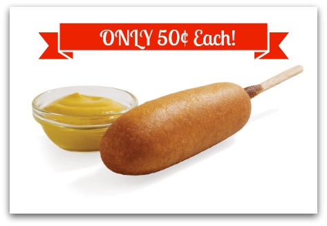 Sonic: 50¢ Corn Dogs Coming Up!