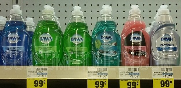 Dawn Dish Soap 49¢ at CVS After Cash Back Thru 6/20