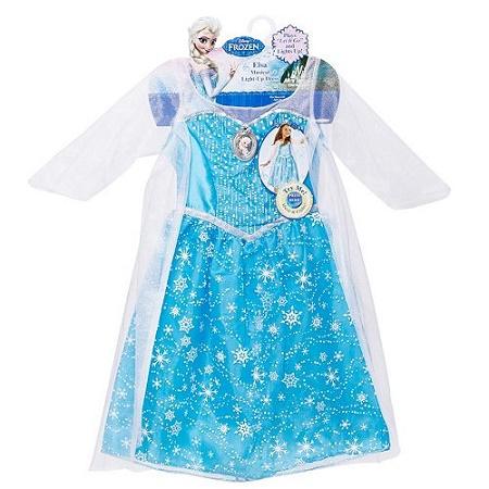 Elsa Frozen Light Up Dress ONLY $19.99 (reg. $39.99) at Kohls Online!