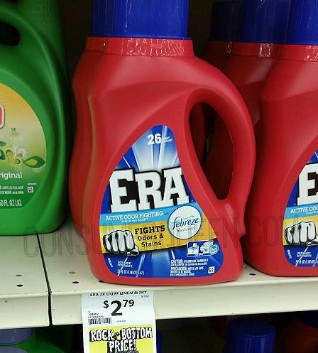 ERA Detergent ONLY $2.29 at Crest Foods!