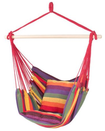 Hammock Hanging Rope Chair ONLY $27.99 (reg. $99.95)!