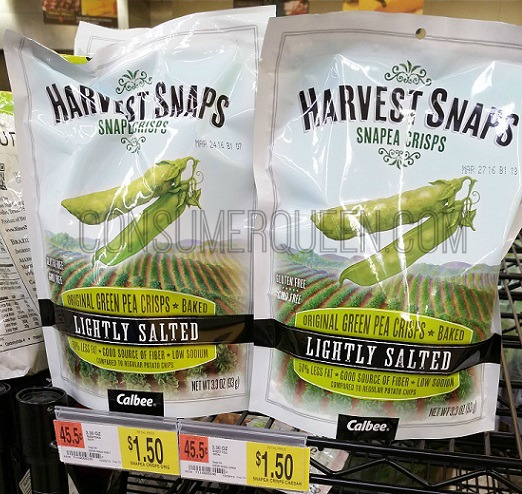 Harvest Snaps ONLY $1.00 at Walmart!