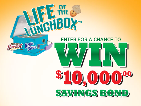 Sweepstakes: Enter for Chance at Savings Bond!