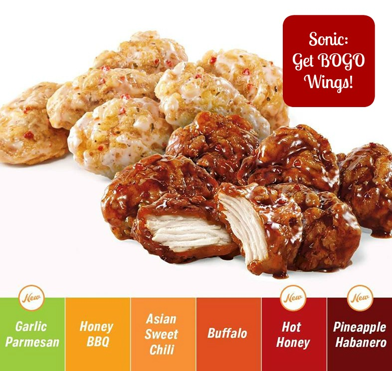 picture relating to Sonics Printable Coupons identified as Sonic: BOGO Boneless Wings! - Client Queen