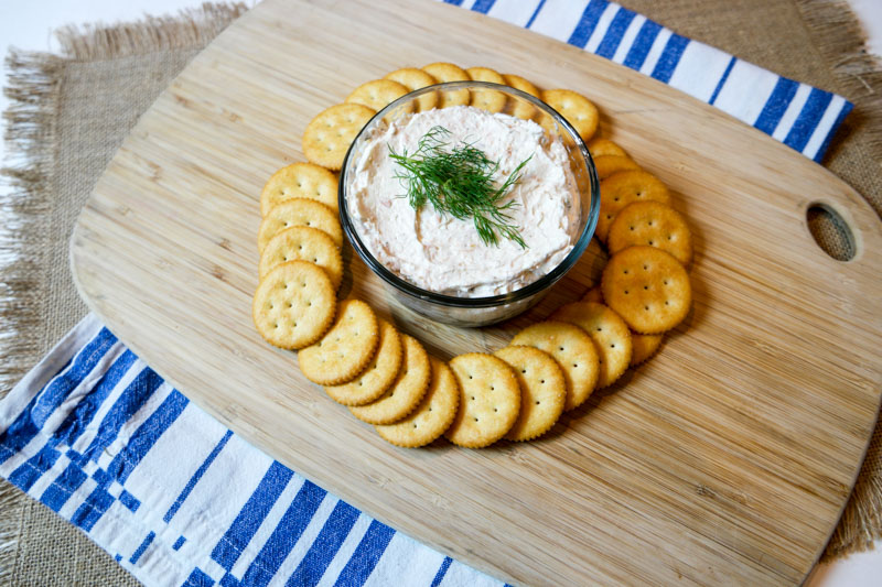 Baked Salmon Spread Recipe