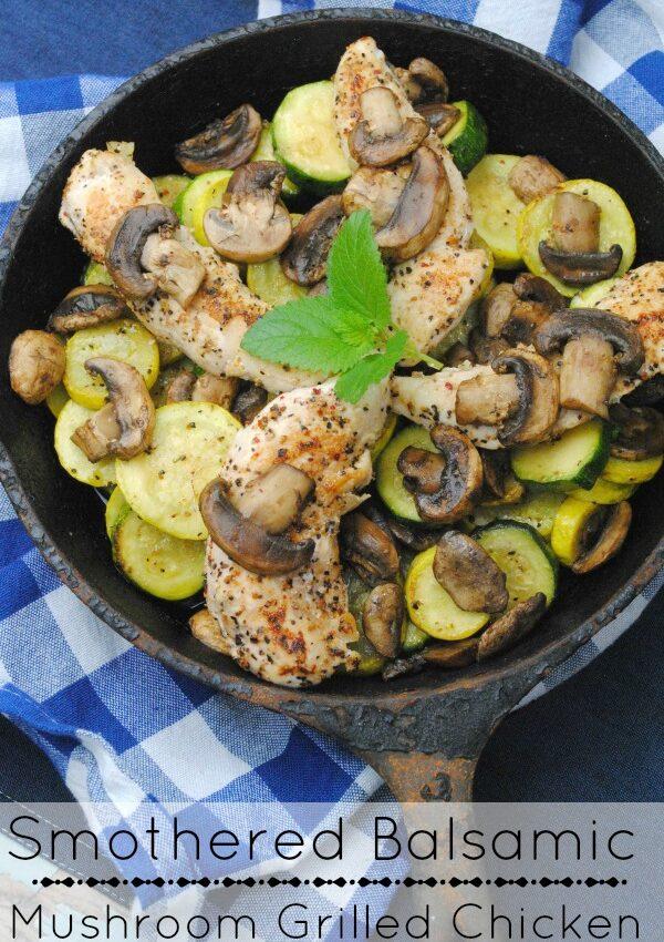 Balsamic mushroom chicken 7-4