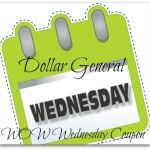 Dollar General WOW Wednesday- Holiday M&M's Coupon!