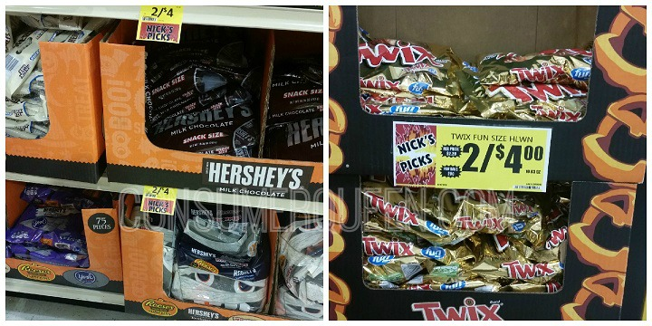 Halloween Candy as Low as $1.50 at Crest Foods