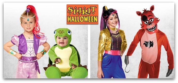 Spirit Halloween – THREE New Coupons!