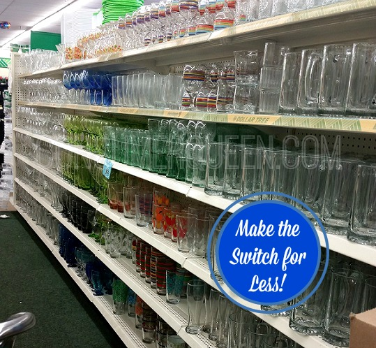 From Plastic to Glass – Make the Switch at Dollar Tree!