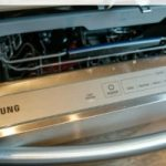 Dishes Dry Faster with Samsung StormWash 7050 Dishwasher