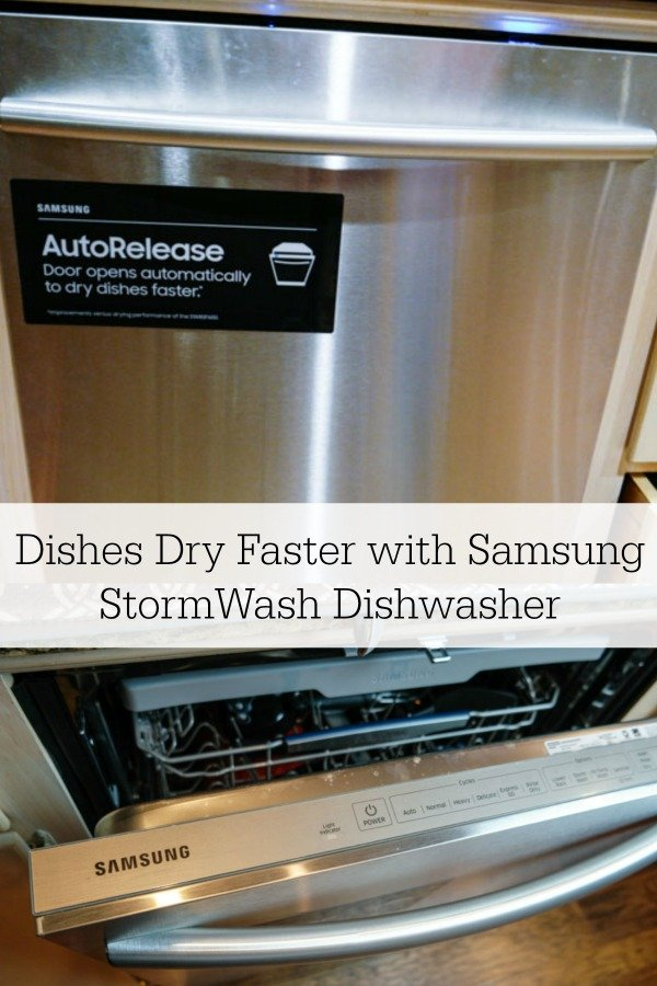 Samsung StormWash Dishwasher Pinterest