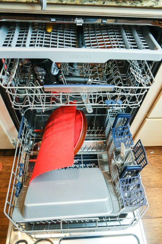 samsung stormwash dishwasher