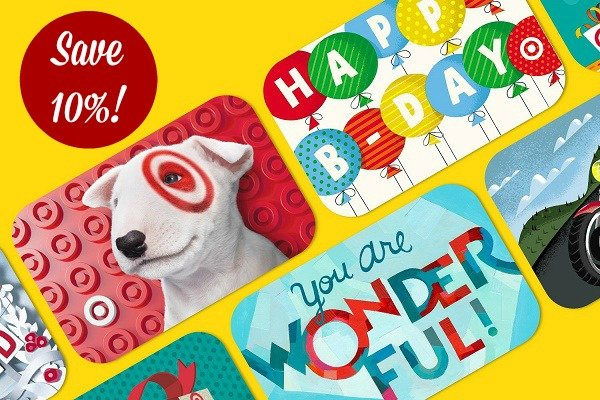 Target Gift Cards 10% Off (12/4) + Toy Catalog Preview!