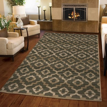 round medium walmart nautical area braided at of rug blue size rugs