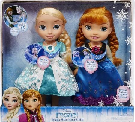 Disney Frozen Singing Elsa Amp Anna Dolls Consumer Queen