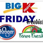 Friday Freebies: Kmart, Kroger, Farm Fresh & More!