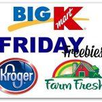 Friday Freebies: Kroger (Affilates) & Shop 'n Save Stores
