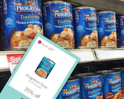 Progresso Soup 44¢ at Target!