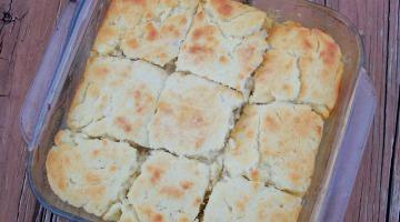 Butter Dip Biscuits Recipe