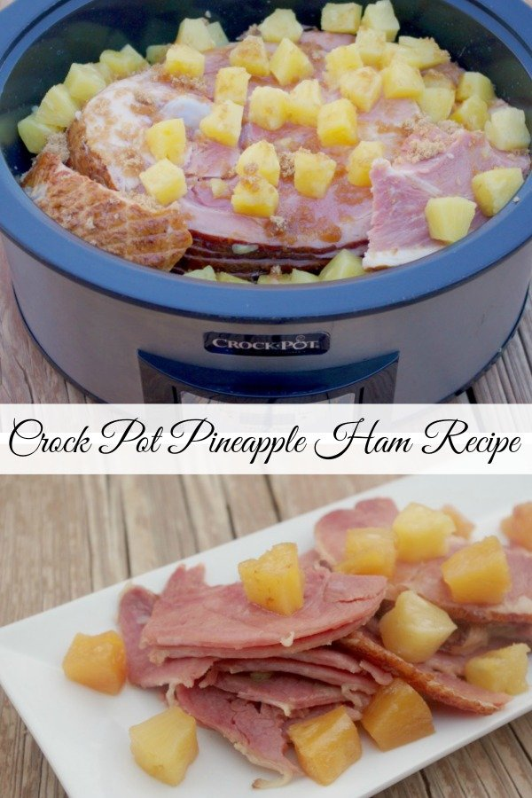 Crock Pot Pineapple Ham Recipe