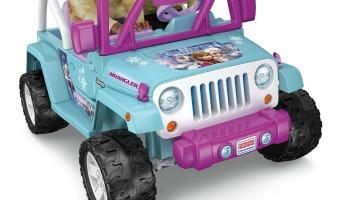 Power Wheels Frozen Jeep Wrangler $100 Off On Amazon
