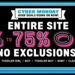 TCP Cyber Monday Sale 60-75% off EVERYTHING and FREE Shipping