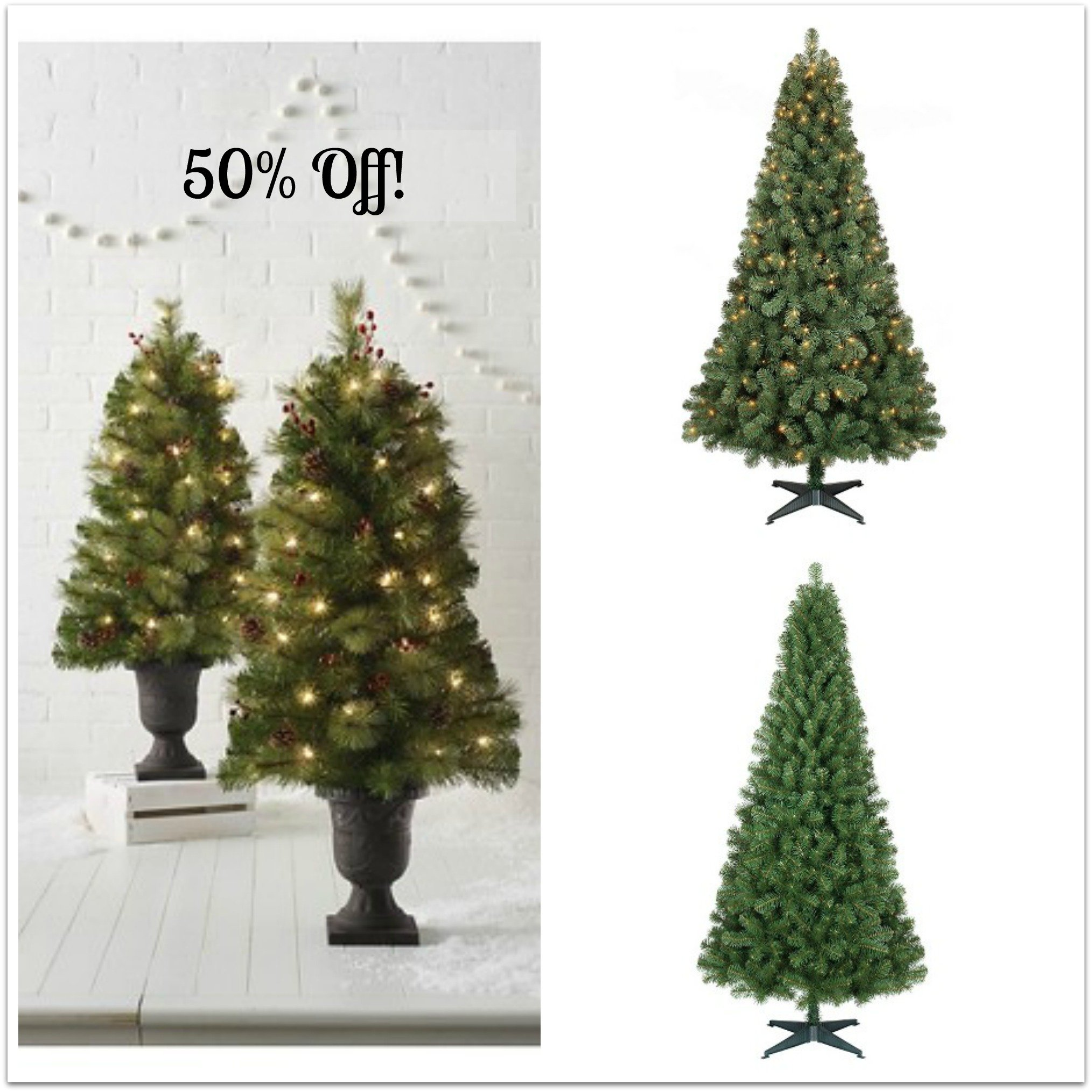 Hot off target wondershop christmas trees