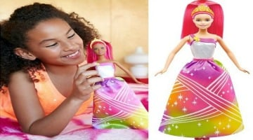 Barbie Rainbow Princess Doll 50% Off at Target – Today Only