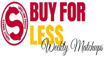 Buy For Less Matchups For Week of 7/25 – 7/31