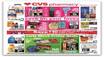 Top 5 CVS Deals For 11/13