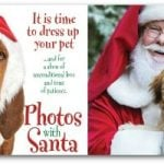 FREE Photo of Your Pet With Santa at PetSmart!
