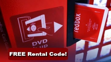 FREE Redbox DVD Rental Code – Today Only!