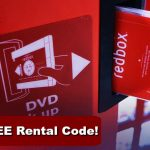 Redbox Code for BOGO FREE DVD Movie Rental