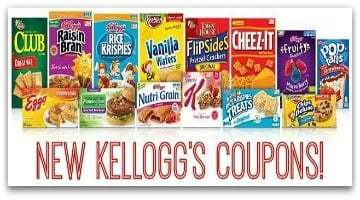 New Kellogg's Coupons: Cereals, Pie Crusts, Meal Bars and More!