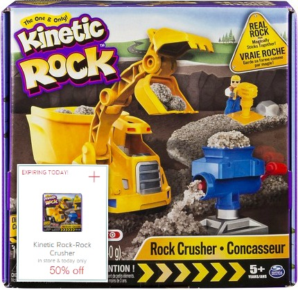 Kinetic Rock Crusher 50% Off Today ONLY at Target!