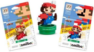 Mario 30th Anniversary amiibo Figures 2/$4.98 (reg. $12.99 Each!)