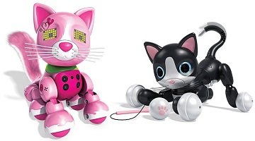 Zoomer Kitty Interactive Cat ONLY $41.99 + Zoomer Meowzy Deal!