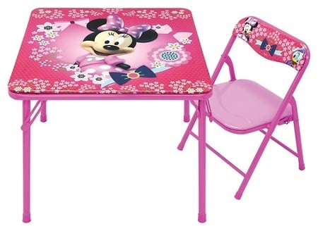 Minnie Mouse Table and Chair 50% Off Today ONLY at Target!