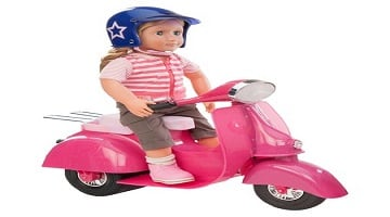 Ride in Style Scooter & Helmet (Doll) 50% Off at Target – Today Only